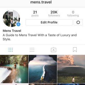buy a 20k motivation instagram account