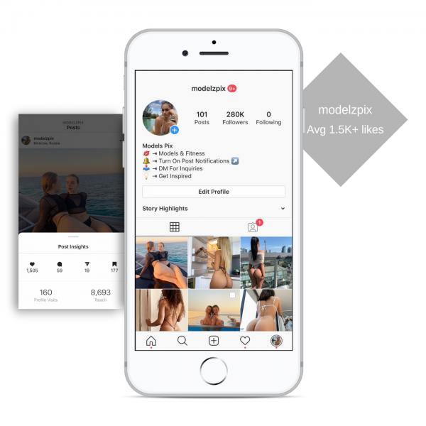 280k model instagram account for sale