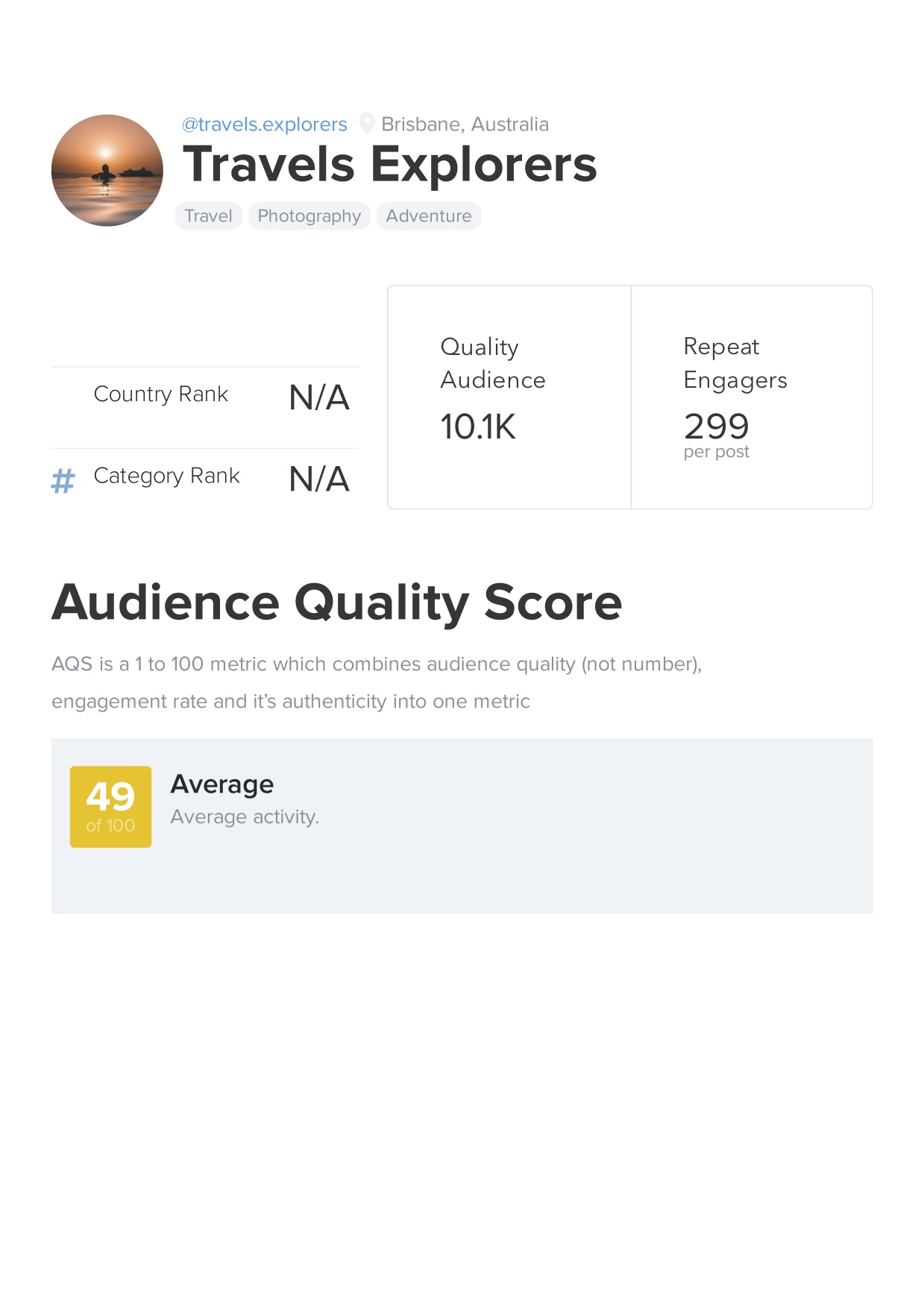 Buy a 10k Instagram account with analytics