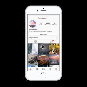 9k travel instagram account for sale