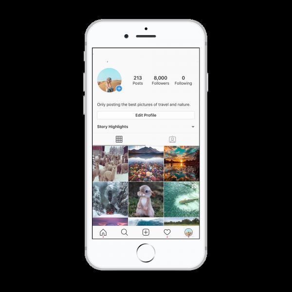 8k travel instagram account for sale