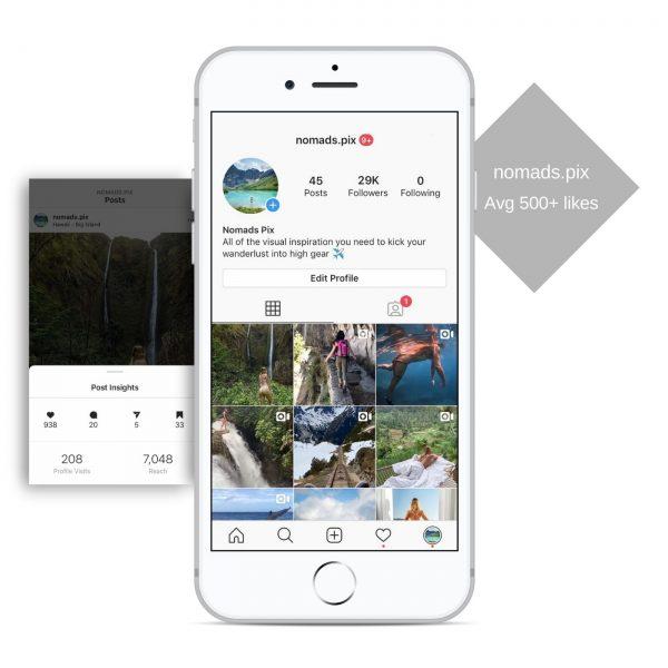 29k travel instagram account for sale