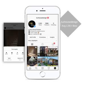 100k real estate instagram account for sale